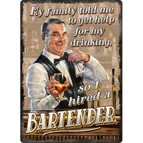 I Hired A Bartender