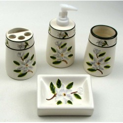 Magnolia Bathroom 4 pc Set