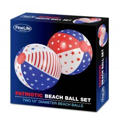 Patriotic Beach Ball Set