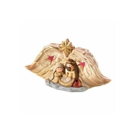 Light-Up Golden Nativity