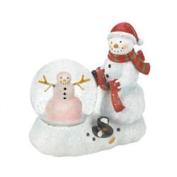 Snowman LED Snow Globe