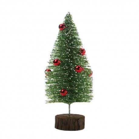 Short Glitter Tree With Ornaments