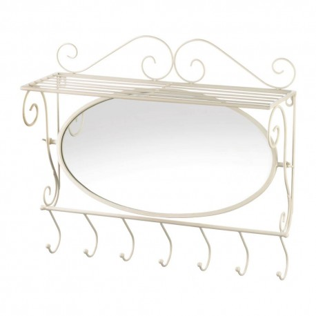 Mirrored Wall Shelf