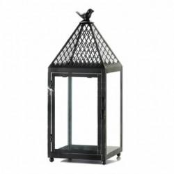 Black Bird Iron Lantern