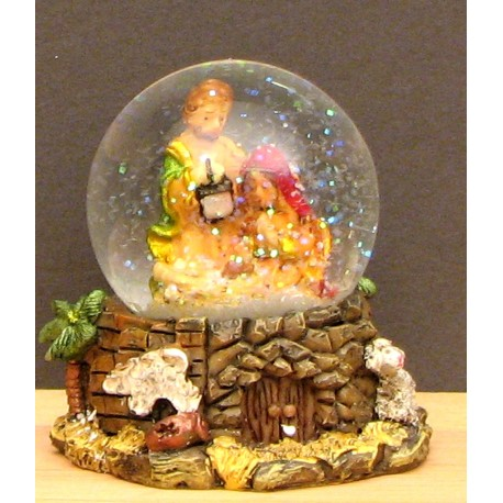 Nativity Scene Water Ball