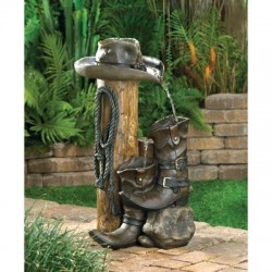 Wild West Water Fountain