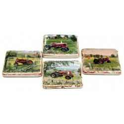 Farmall Coaster Set of 4