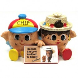 Famous Amos Chip & Cookie Jar