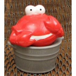 Ceramic Crab Bucket S/P Set