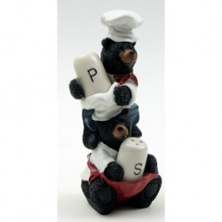 Bear Chef Salt and Pepper Set