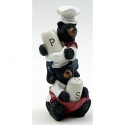 Bear Chef Salt and Pepper Set