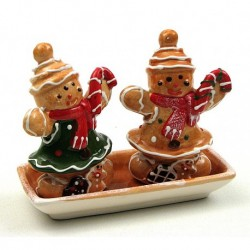 Gingerbread Salt and Pepper Set