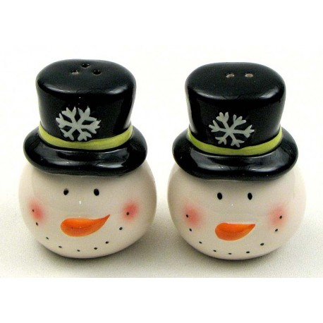 Snowman Salt and Pepper Set