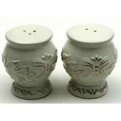 Decorative Ceramic Salt & Pepper Set