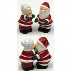 Santa Couple Salt and Pepper Set