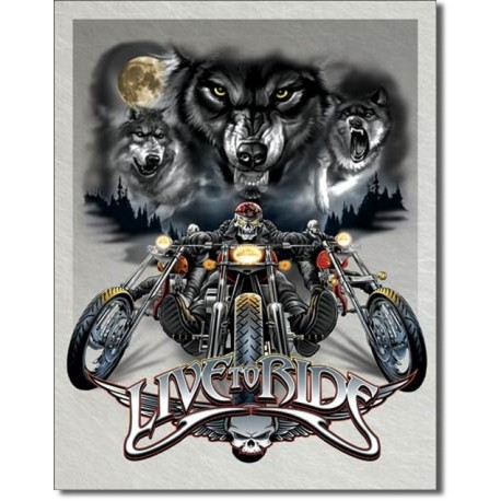 Live to Ride - Wolves