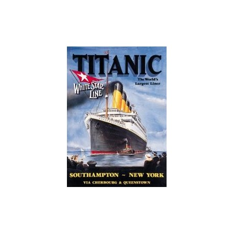 Tin Sign Titanic