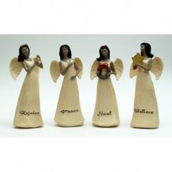 Ebony Angels Set of Four