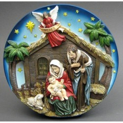 Nativity Scene Plate LED