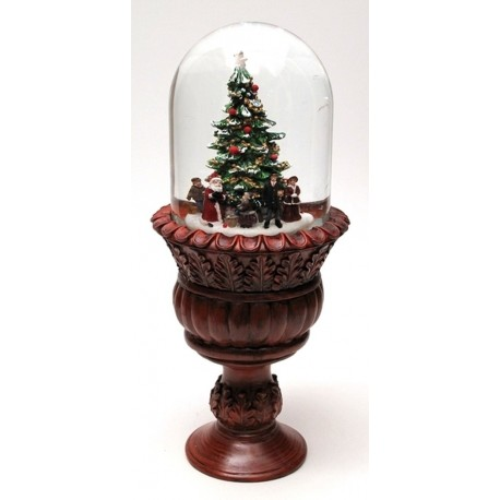 Roman Musical Christmas Waterglobe CLOSEOUT