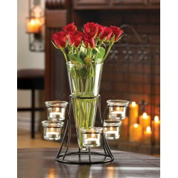 Circular Candle Stand Centerpiece Vase