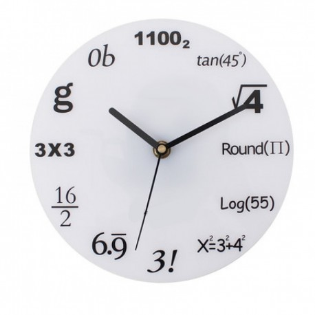 Mathematical Wall Clock