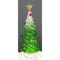 Acrylic Christmas Tree w/Led