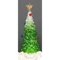 Acrylic Christmas Tree w/Led
