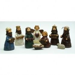 Mini Nativity Nine Piece Set