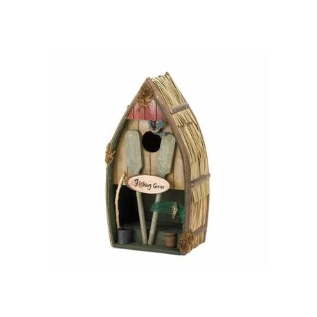 Fishing Boat Birdhouse