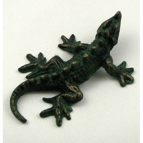 SET OF 6 Green Lizards