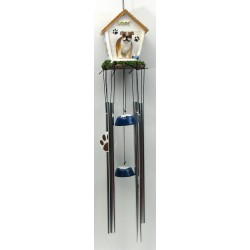 Bulldog Dog Days Windchime