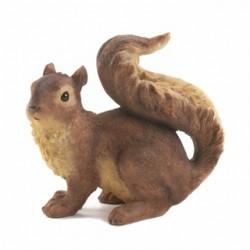 Curious Squirrel Garden Statue