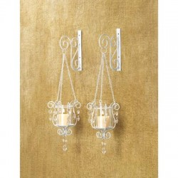 Bedazzling Pendant Wall Sconces Set