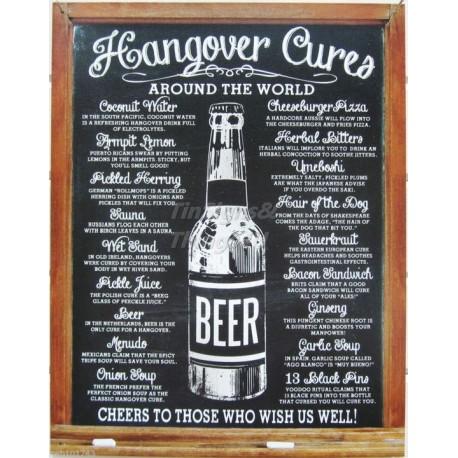 Tin Sign Hangover Cures
