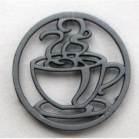Cast Iron Coffee Cup Trivet