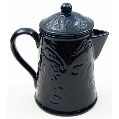 Kaldun & Bogle Blue Bandana Coffee Pot