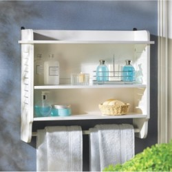 Nantucket Bathroom Wall Shelf
