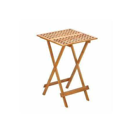 Wood Folding Tray Table